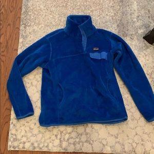 Blue Patagonia fleece!